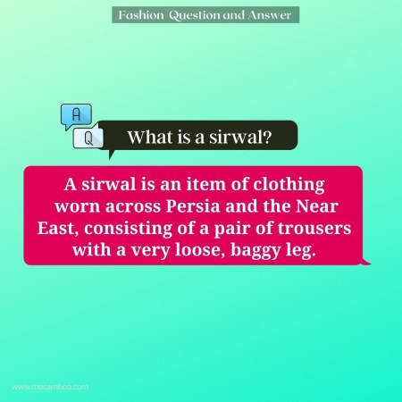 What is a sirwal?