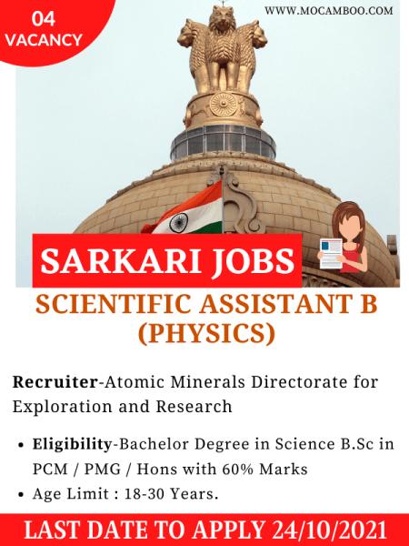 Scientific Assistant B (Physics)