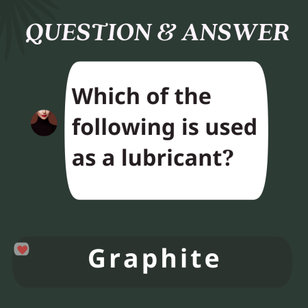 Which of the following is used as a lubricant?