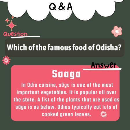 Which of the famous food of Odisha?