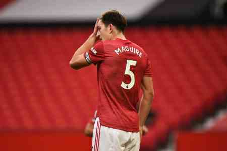 Man United fans can't believe Maguire's defending for Daka's Leicester 4th