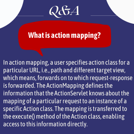 What is action mapping?