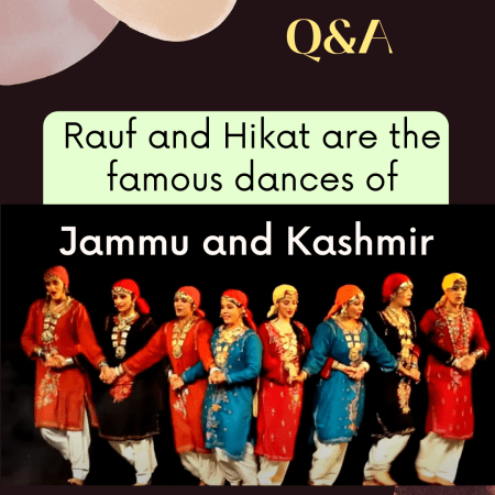 Rauf and Hikat are the famous dances of