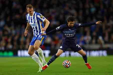 Bernardo Silva claims spreads after City thump Brighton