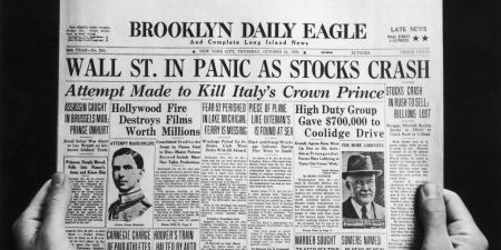 The 1929 Stock Market Crash Caught Nearly Everyone Off Guard. Are We Headed for a Similar Fate?