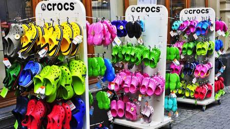 Crocs, Goldman Sachs Lead 5 Stocks In Buy Zones Without This Huge Risk