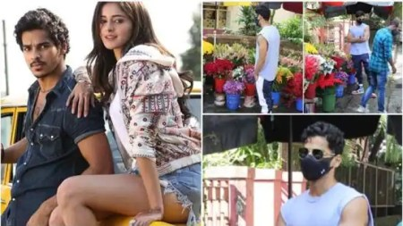 Ishaan Khatter visited Ananya Panday With Flowers who has been summoned by the Narcotics Control ...
