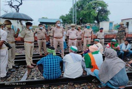 Kisan Rail Roko Andolan Today Live News Updates In Hindi Farmer Union Calls For Rail Roko Agitat ...