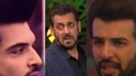 Salman Khan calls Jay Bhanushali principles 100 fake Karan Kundra cried after salman khan scolds ...