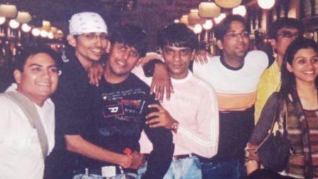 Taarak Mehta Ka Ooltah Chashmah Champak Chacha throwback pic from 2007 Can you spot ss