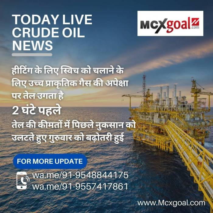 TODAY LIVE CRUDE OIL NEWS