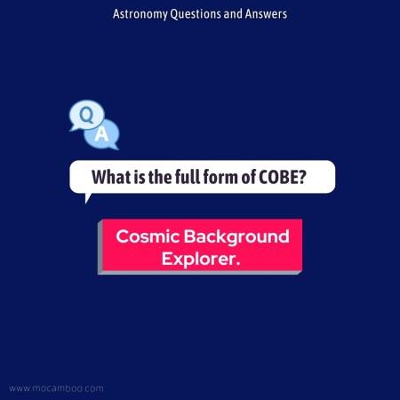 What is the full form of COBE?