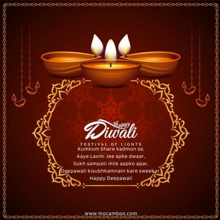 Har dam khushiya ho sath, Kabhi daman na ho Khali Hum sab Ke taraf se, Wish you Happy Deepawali…