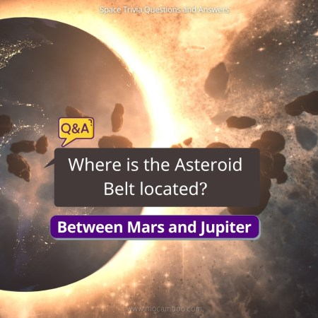 Where is the Asteroid Belt located?