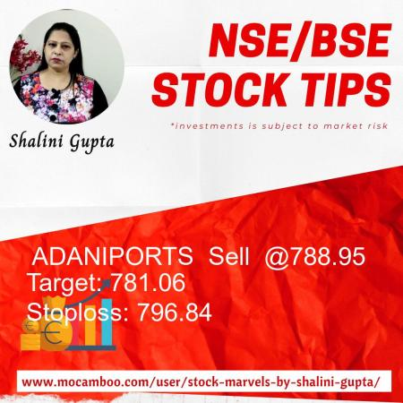 Live  ADANIPORTS  Sell  @788.95    Trading Call