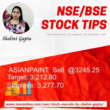 Live  ASIANPAINT  Sell  @3245.25    Trading Call