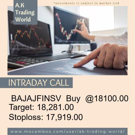 Live  BAJAJFINSV  Buy  @18100.00    Trading Call