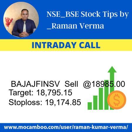 Live  BAJAJFINSV  Sell  @18985.00    Trading Call