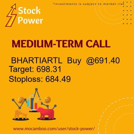 Live  BHARTIARTL  Buy  @691.40    Trading Call