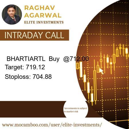 Live  BHARTIARTL  Buy  @712.00    Trading Call