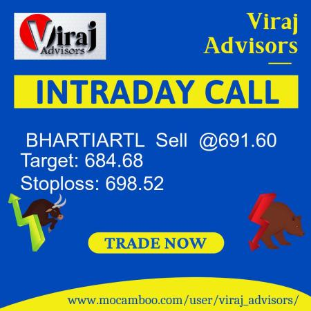 Live  BHARTIARTL  Sell  @691.60    Trading Call