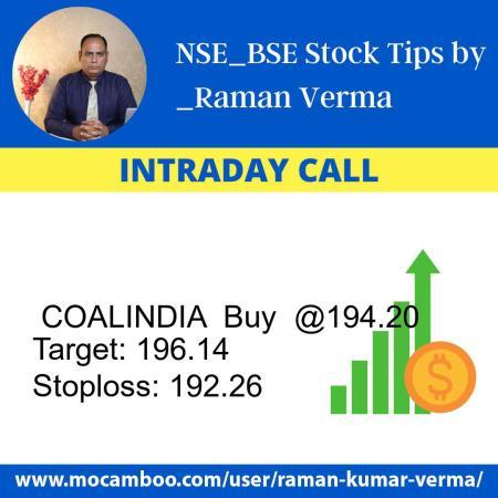 Live  COALINDIA  Buy  @194.20    Trading Call