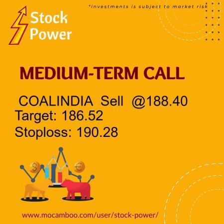 Live  COALINDIA  Sell  @188.40    Trading Call