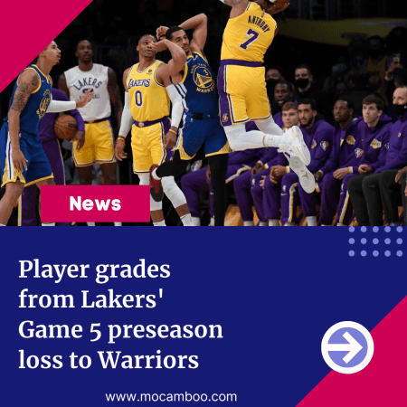 Player grades from Lakers' Game 5 preseason loss to Warriors