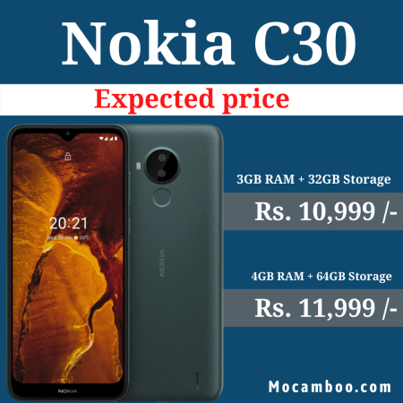 Nokia C30 Launched in India