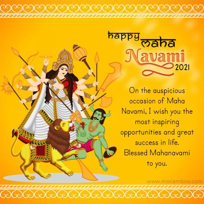 Happy Maha Navami 2021