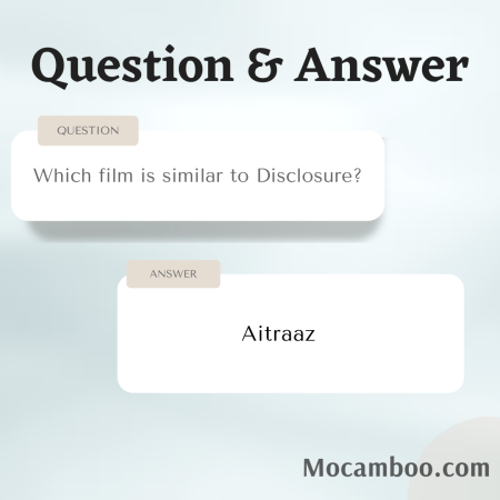 Which film is similar to Disclosure?