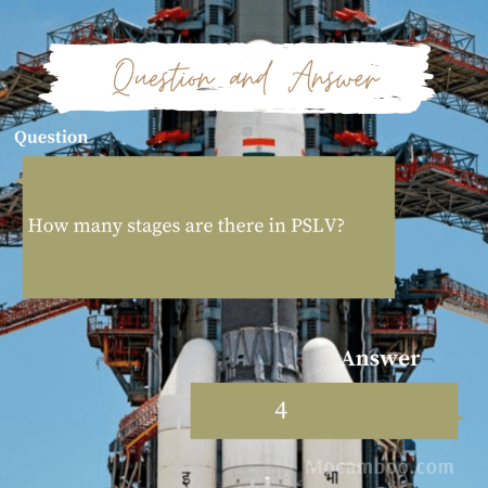 How many stages are there in PSLV?