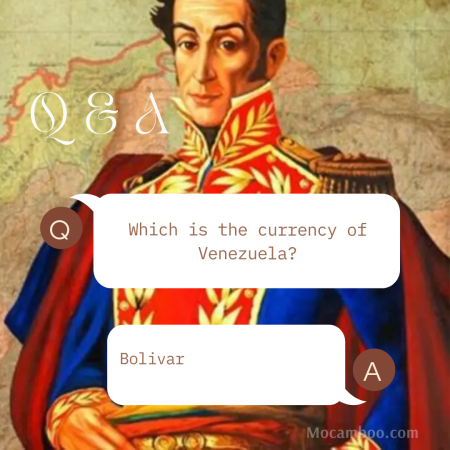 Which is the currency of Venezuela?