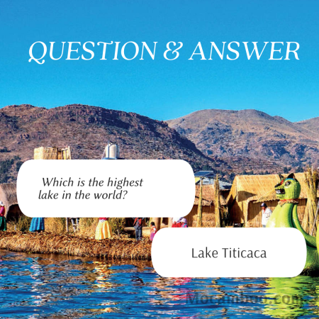 Which is the highest lake in the world?