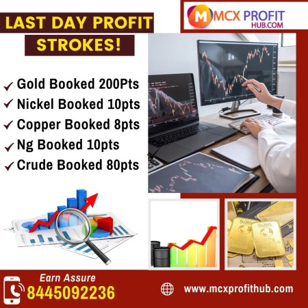 LAST DAY PROFIT STROKES UPDATE BY MCX PROFITHUB OR GET FREE TRIAL CALL @8445092236
