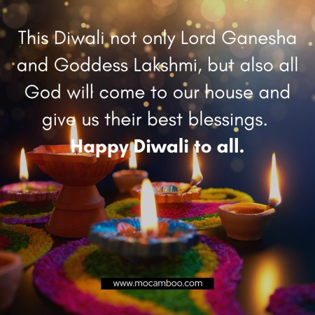 This Diwali not only Lord Ganesha and Goddess Lakshmi, but also all God will come to our house a ...