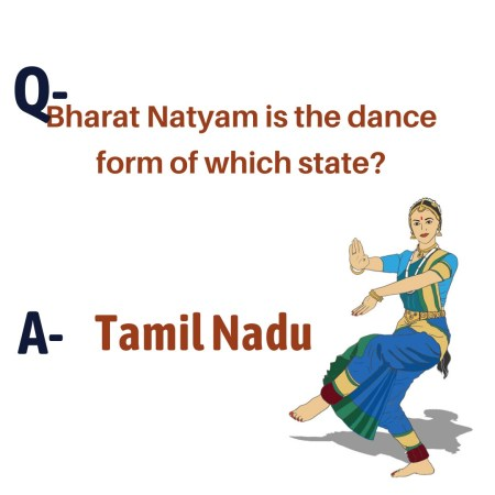 Bharat Natyam is the dance form of which state?