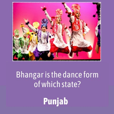 Bhangar is the dance form of which state?