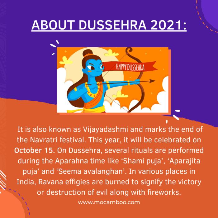 About Dussehra 2021: