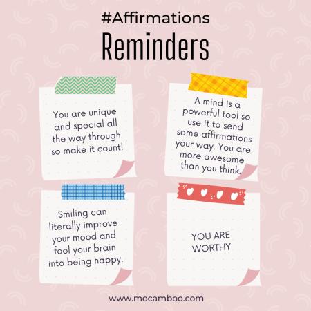 Powerful Affirmations…