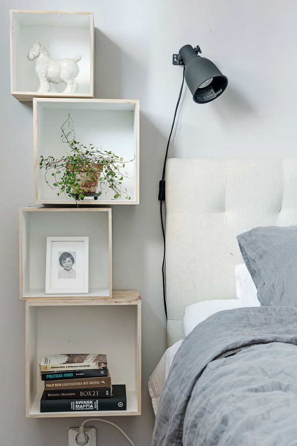 7 Alternatives To Bedside Tables For Small Spaces  Mocha Casa Blog