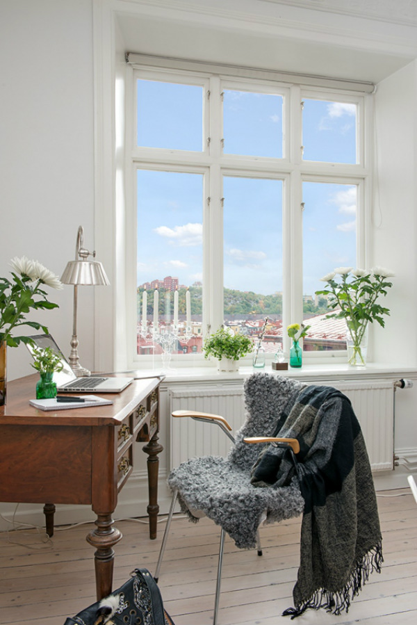Seven Good Reasons To Have Plants In Your Home Office