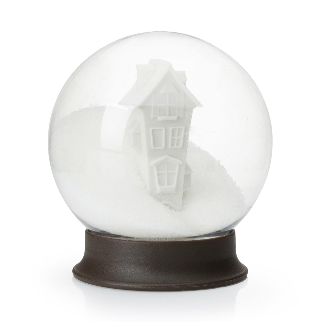 Sugar House Snow Globe Sugar Bowl  Homeware Furniture And Gifts  Mocha