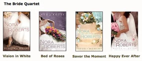 Nora Robert's books