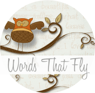 Words that Fly button