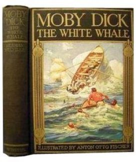 Moby-Dick; or The Whale, Herman Melville,1851