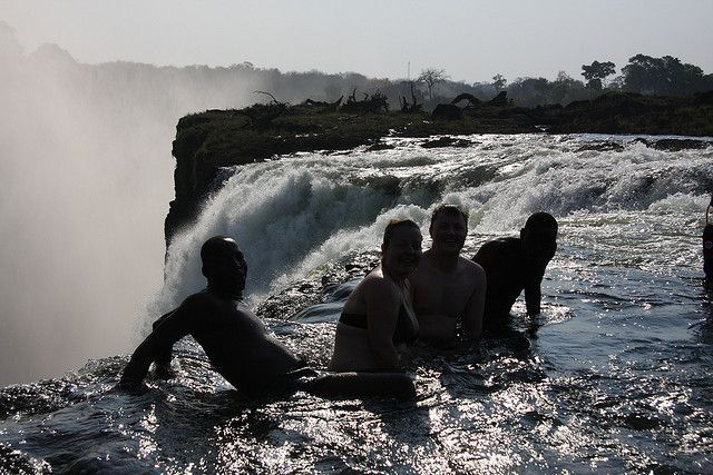 devil´s pool zambia