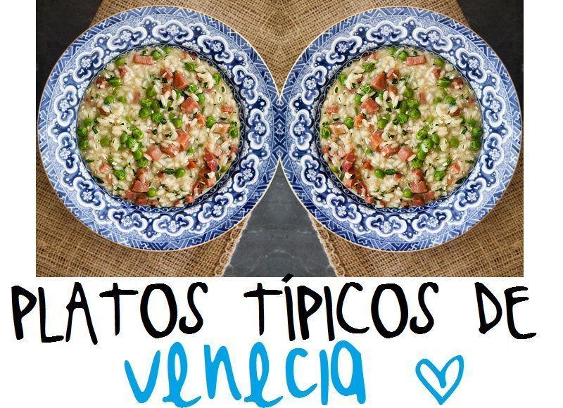 Gua gastronmica de Venecia los platos tpicos