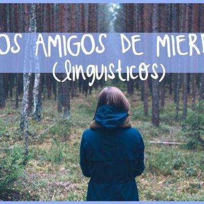 LOS AMIGOS DE MIERDA (LINGÜISTICOS)