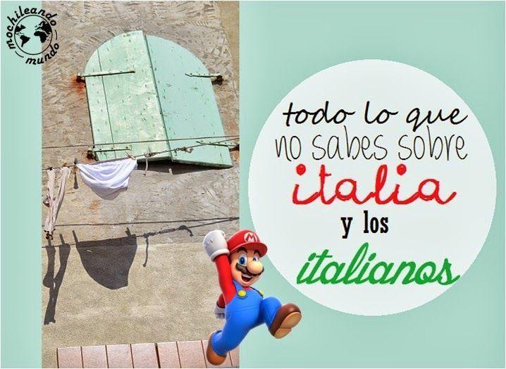 curiosidades italia italianos